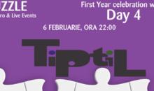 Concert TiPtiL, 6 februarie, Puzzle Club