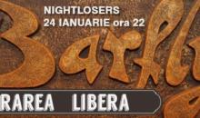 Nightlosers in BarFly – 24 Ian – Intrare Libera din Bucuresti
