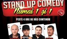 Stand-up Comedy cu artisti NUMAI 1 si 1 la Cinema Patria