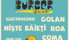 Concertele BURGERFEST: programul și lista restaurantelor participante