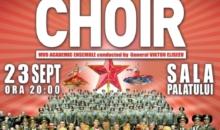 Corul Armatei Rosii in concert la Bucuresti