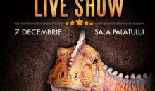 """""""JURASSIC EXPERIENCE"""" – cel mai așteptat show live pentru copii și adulți la Sala Palatului"""