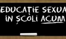 Apel de urgență pentru educație sexuală în școli