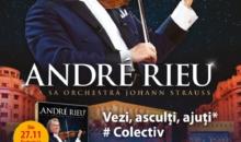 """ANDRE RIEU vine la Bucuresti pentru  lansarea DVD-ului concertului """"Live in Bucuresti"""""""