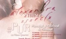 Alexandra Uşurelu, una dintre cele mai bine vândute artiste independente, pleacă în două turnee în paralel