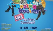 """""""BOEING, BOEING"""",  cea mai aplaudata comedie, aterizeaza la Teatrul Sica Alexandrescu din BRASOV"""
