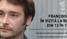 AUTORUL FRANCEZ FRANÇOIS BEAUNE EFECTUEAZĂ O VIZITĂ ÎN ROMÂNIA  în cadrul proiectului L.I.R. (LIVRE IN ROOM)