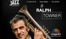 Grupul Jazzappella canta in deschierea concertului Paolo Fresu si Ralph Towner, de la Sala Radio