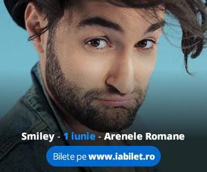 Concert Smiley la Arenele Romane