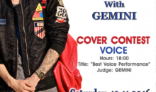Gemini sustine un recital extraordinar la Romanian K-Pop Cover Voice Contest 2016
