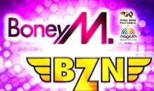 BATALIA HITURILOR: BZN si BONEY M., pe aceeasi scena