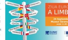 DIVERSITATEA LINGVISTICĂ ESTE SĂRBĂTORITĂ LA BUCUREȘTI  cu ocazia celei de-a 15-a ediții a Zilei Europene a Limbilor