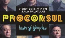 Surpriză de proporţii: Proconsul şi-a invitat un fan să cânte cu ei pe scenă la Sala Palatului pe 7 octombrie