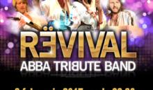 Comunicat de presa – ABBA Tribute Band REVIVAL™, cea mai buna trupa tribut Abba din Marea Britanie, concerteaza la Hard Rock Cafe