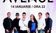 Concert Avenue la Hard Rock Cafe pe 14 ianuarie
