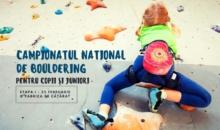 Campionatul național de bouldering pentru copii și juniori