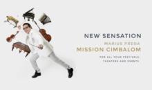 """MARIUS PREDA lansează albumul """"MISSION CIMBALOM"""" in cadrul Festivalului de jazz de la Gărâna"""