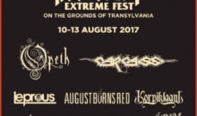 Carcass va concerta la editia aniversara Rockstadt Extreme Fest 2017