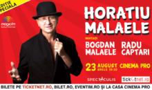 Horatiu Malaele si Bogdan Malaele se intrec in replici actoricesti, miercuri, 23 august, la Cinema PRO