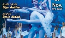 """Baletul """"Lacul lebedelor"""" din nou pe scena Teatrului National pe 20 noiembrie"""
