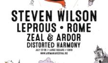 Primele confirmări ARTmania Festival 2018: Steven Wilson, Leprous, ROME, Zeal & Ardor şi Distorted Harmony