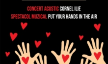 Concert caritabil – Cornel Ilie si Victoria Art canta, din inima, pentru Gheorghe