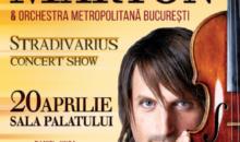Violonistul și compozitorul Edvin Marton, va concerta la Sala Palatului din București