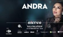"""Concert Andra """"Aievea"""" la Sala Palatului"""