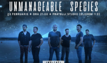 Trupa Grimus lanseaza albumul Unmanageable Species la Fratelli Studio