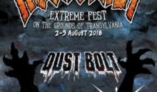 DUST BOLT, OBSCURE SPHINX si INFEST sunt cele mai noi confirmari pentru Rockstadt Extreme Fest 2018