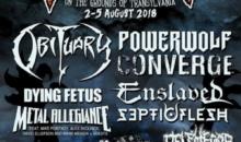 BRUJERIA, ENSLAVED, OF VIRTUE si THE ROYAL sunt cele mai noi nume confirmate pentru Rockstadt Extreme Fest 2018