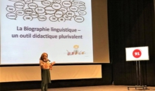 Teza mea de doctorat în 180 de secunde – Veronica Hagi – cel mai bun performer ştiinţific francofon al anului 2018, în România
