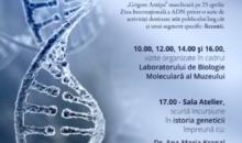 """Ziua ADN la Muzeul Naţional de Istorie Naturală """"Grigore Antipa"""""""