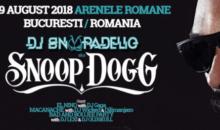 Concertul Dj Snoopadelic la Arenele Romane se amana