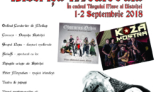 Program festival Bistrita Medievala 1-2 septembrie 2018