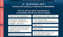 WordCamp București 2018, cel mai mare eveniment al comunității WordPress din România