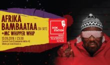 DokStation presents Afrika Bambaataa si MC Whipper Whip in Club Control