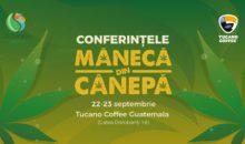 Conferințele Mânecă din Cânepă la Tucano Coffee din București