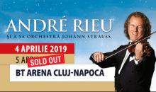 André Rieu susţine încă un concert  la BT ARENA din Cluj-Napoca