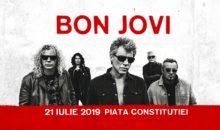 Concert Bon Jovi Live – 21 iulie 2019, in Piata Constitutiei