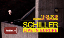Biletele pentru concertul Schiller, la pretul de la 89 lei, sunt sold out