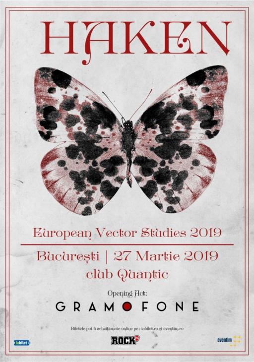 Concert Haken in club Quantic Bucuresti