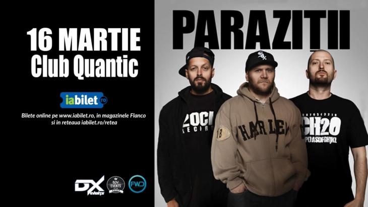 Concert Parazitii Quantic Bucuresti