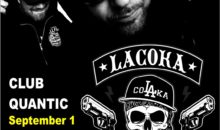 Concert La Coka Nostra in club Quantic