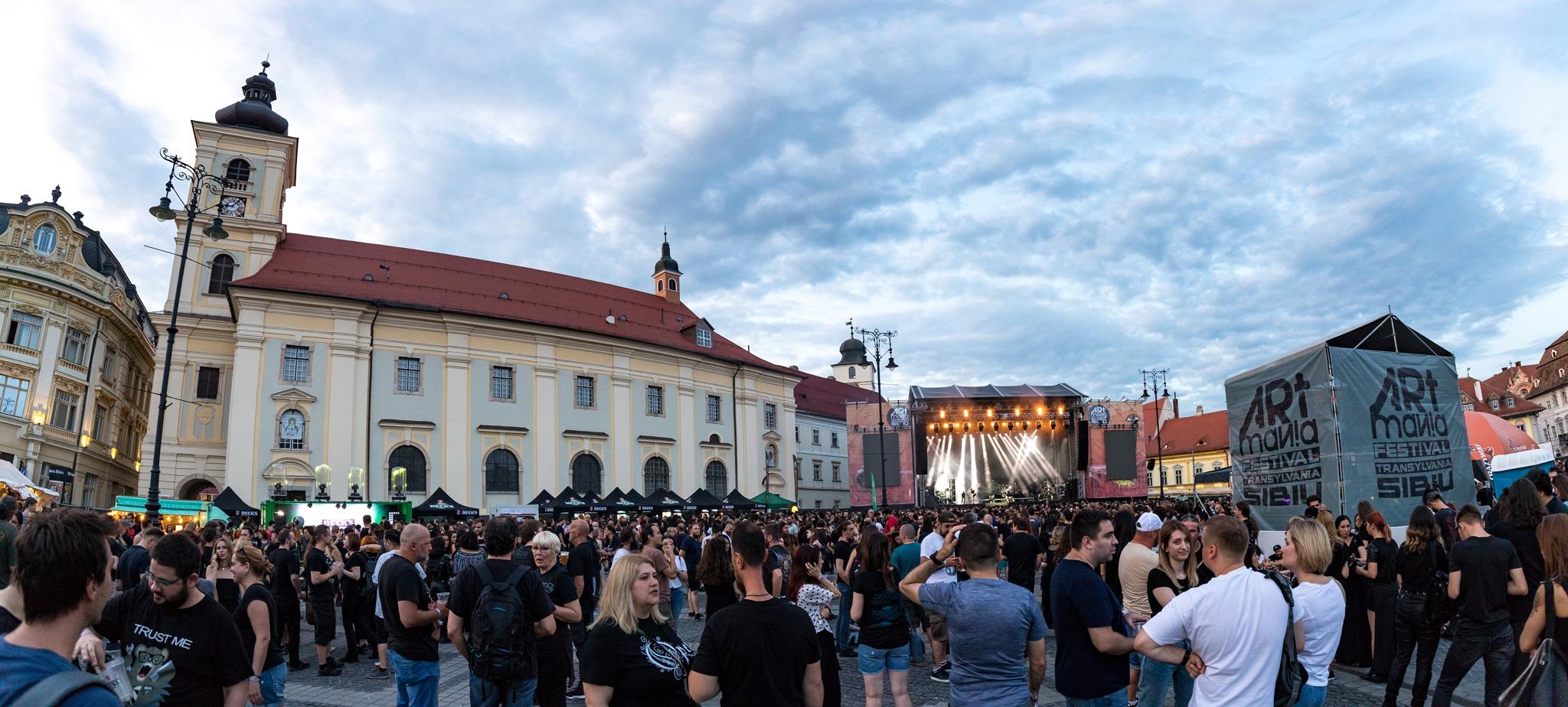 Galerie foto ARTmania Festival 2019, ziua 2: Möbius, Alcest, Madrugada si Opeth