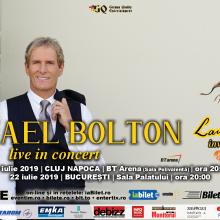 Reguli de acces la concertele Michael Bolton din Cluj-Napoca si Bucuresti