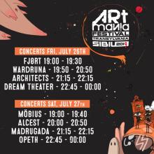 Program ARTmania Festival 2019