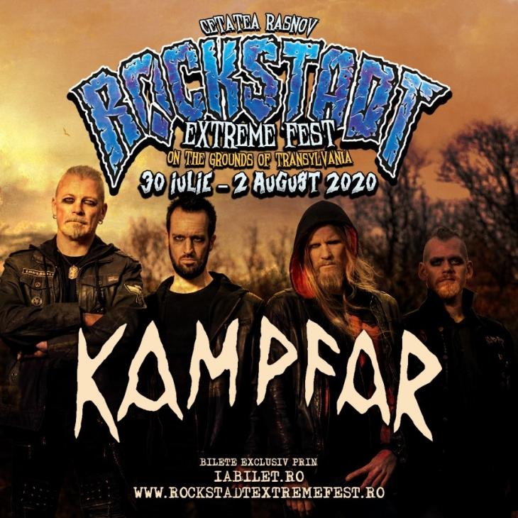 Kampfar confirmați la Rockstadt Extreme Fest 2020