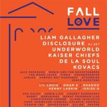 Noi artiști internaționali și români confirmați la Fall in Love Festival
