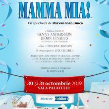 """Spectacolul """"Mamma Mia!"""" la Sala Palatului"""